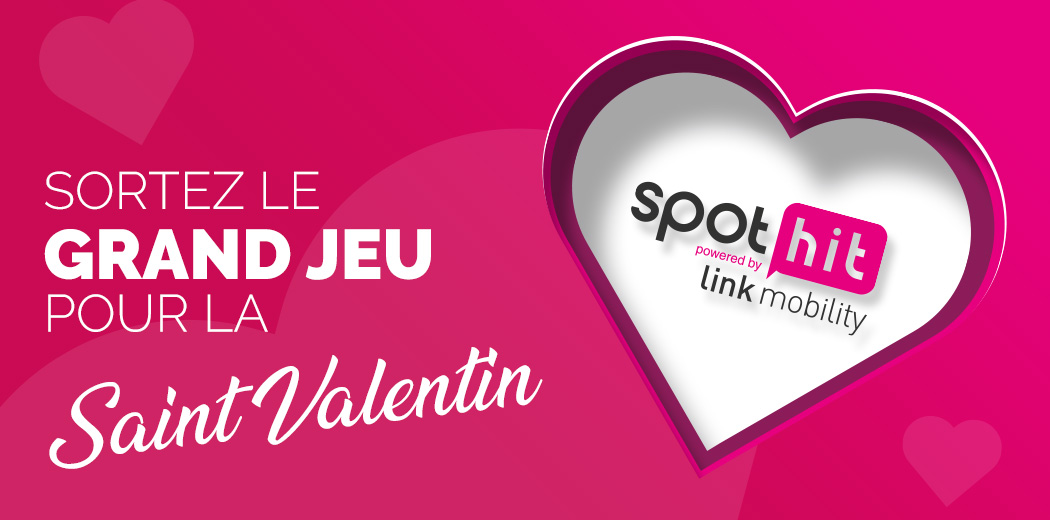 Campagne SMS Saint Valentin