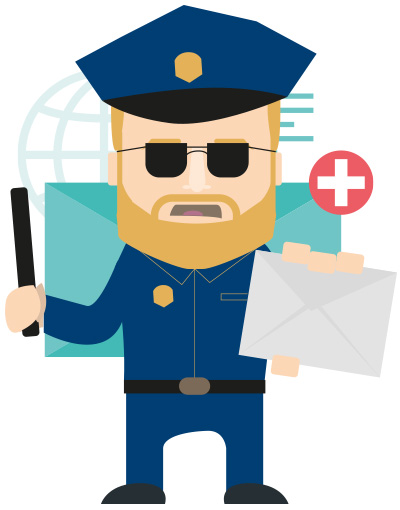 Police anti-SPAM