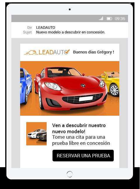 Exemple de réalisation de newsletter