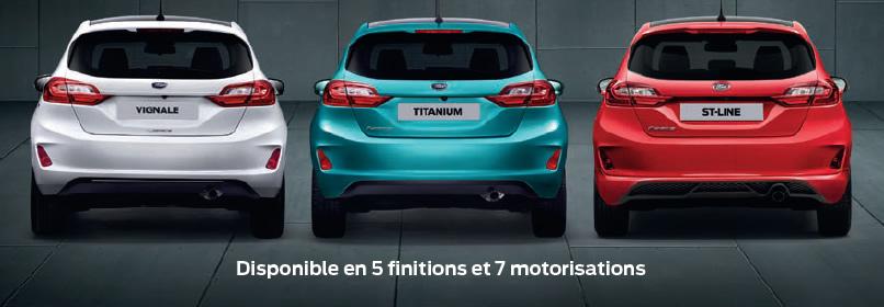 Coffre arrière nouvelle Fiesta